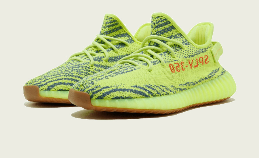 Giày Yeezy Boost 350 V2 Semi Frozen Yellow