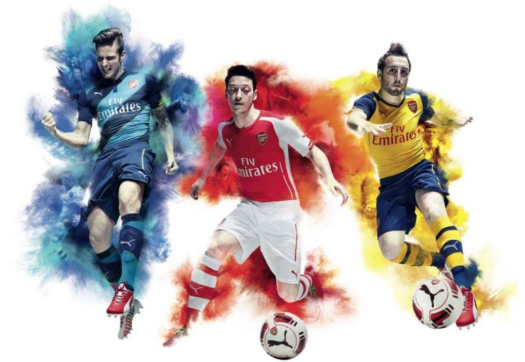 2014_PUMA Arsenal kits 2014-2015