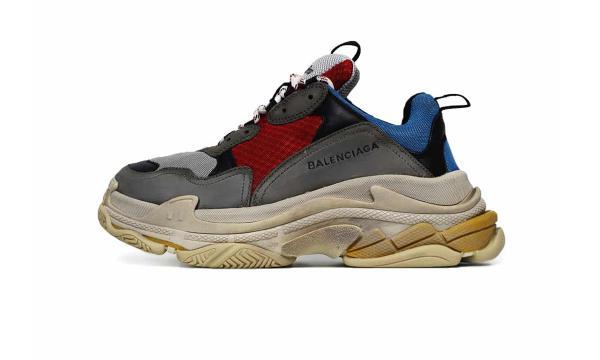 Giày thể thao Balenciaga Triple S Multicolor