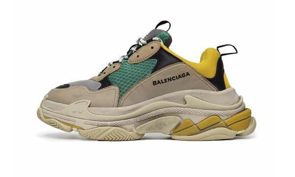 Giày thể thao Balenciaga Triple S Yellow Green