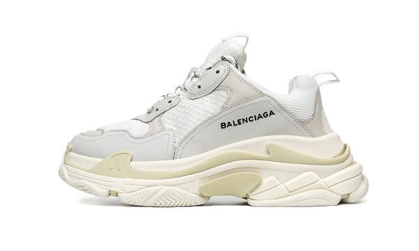Giày thể thao Balenciaga Triple S White Cream