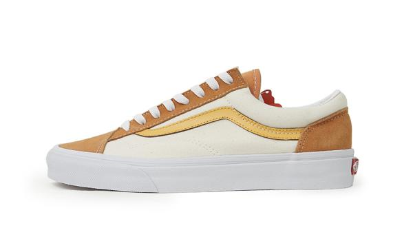 Giầy thể thao Vans Off The Wall Amberglow Rep1:1