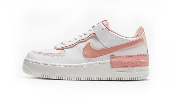 Giầy thể thao Nike Air Force 1  Low White Coral Pink Nữ