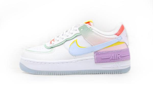 Giầy thể thao Nike Air Force 1 Low  Shadow White/Multi-Color Nữ