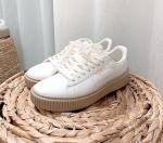 Giày thể thao PUMA Basket Platform Patent Marshmallow Nữ - image 1