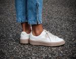 Giày thể thao PUMA Basket Platform Patent Marshmallow Nữ - image 3