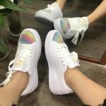 Giày thể thao PUMA Suede Platform Nhũ Rainbow Nữ - image 4