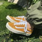 Giầy thể thao Vans Off The Wall Yellow Rep1:1 - image 1