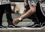 Giầy Vans cổ cao Sk8-High Rep1:1 - image 2