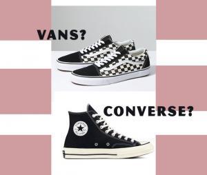Nên mua giày Vans hay Converse? Sneaker nào tốt hơn?