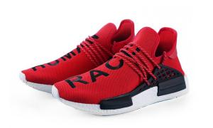 Giày thể thao Adidas Human Race Red & Black Rep - image 0